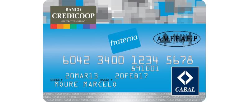 Tarjeta de Crédito AMFEAFIP