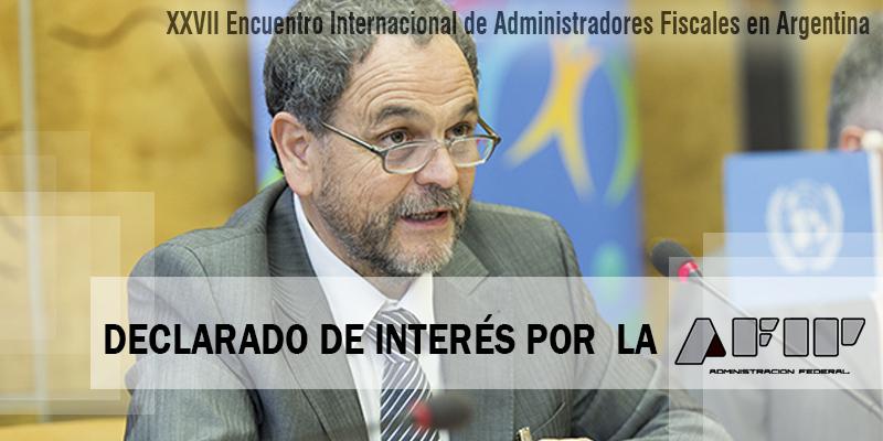 Declarado de Interés por la AFIP