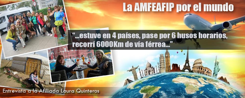 la AMFEAFIP por el mundo -  Quinteros
