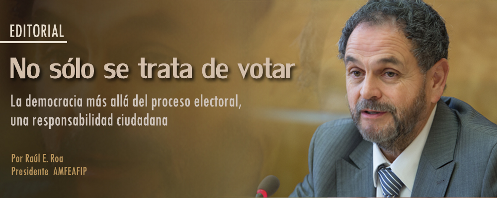 La democracia, una responsabilidad ciudadana