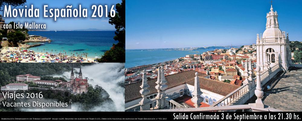 VIAJES 2016 - Movida Española 2016 - 2