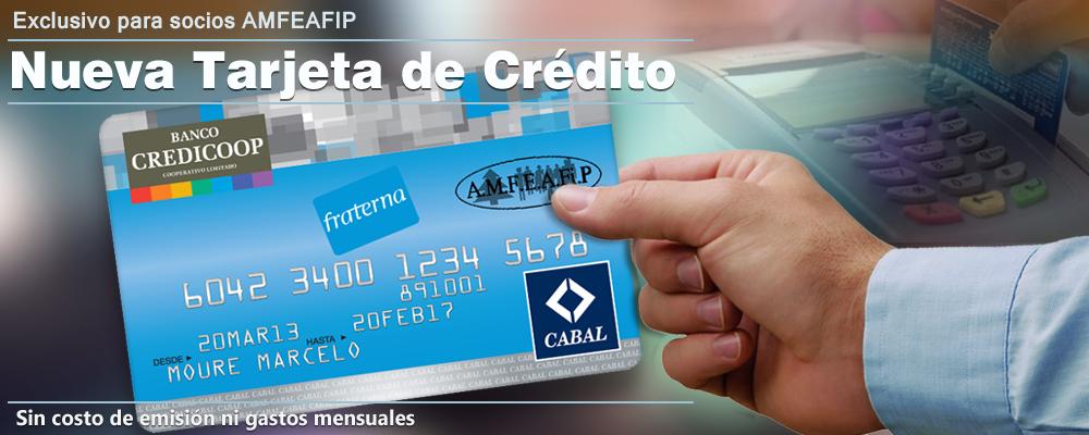 Tarjeta de Crédito CABAL