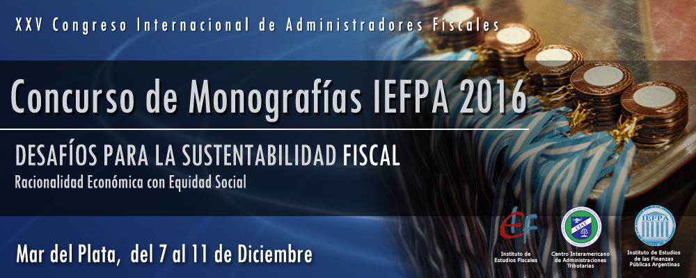 Concurso de Monografias 2016