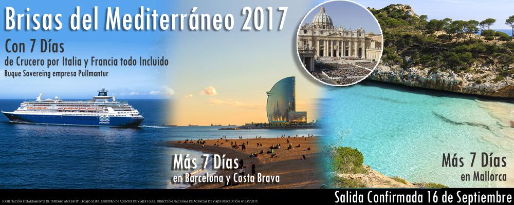 BRISAS DEL MEDITERRÁNEO 2017