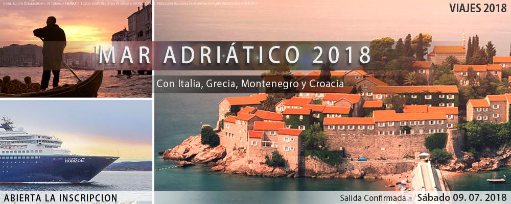 VIAJES 2018 -  Mar Adriatico 2018