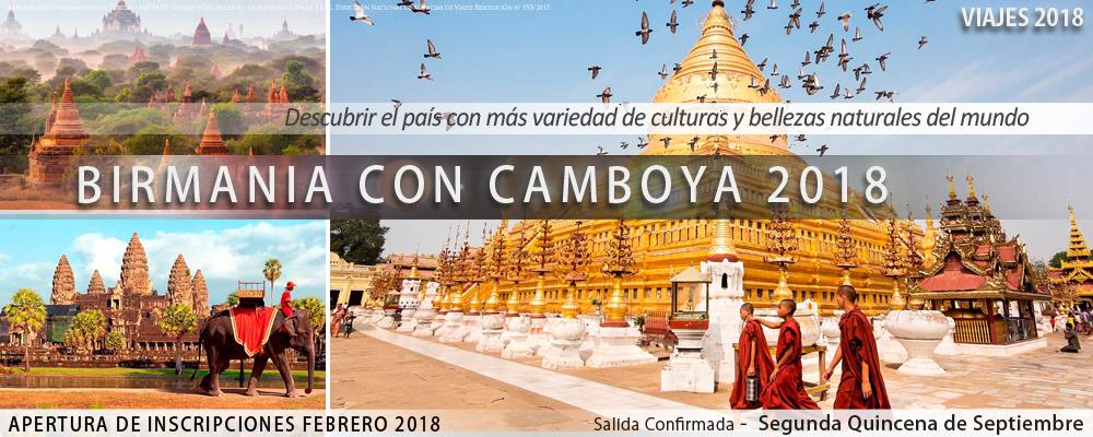 VIAJES 2018 -  Birmania 2018