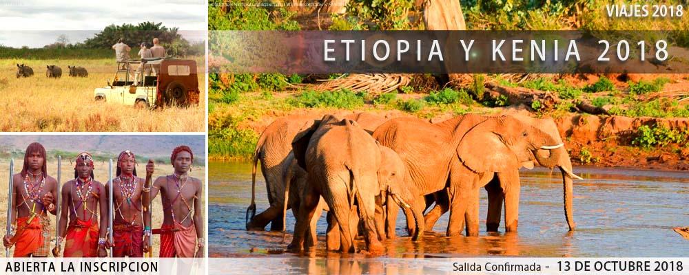 Kenia con Etiopía 2018