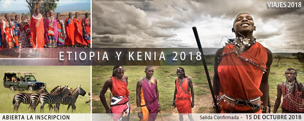 Etiopía-Kenia 2018