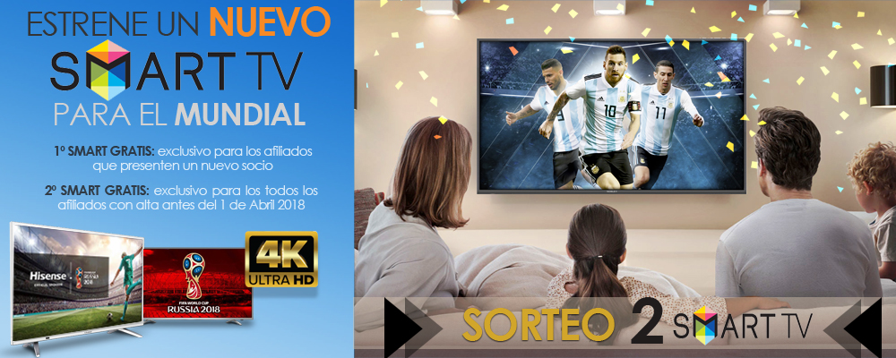 SORTEO SMART TV