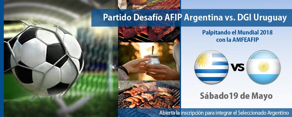 Partido AFIP ARGENTINA VS DGI URUGUAY
