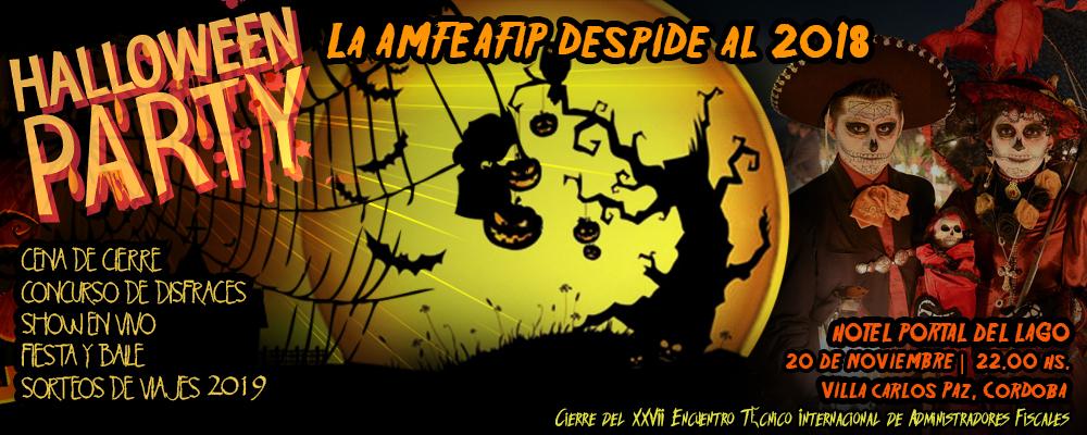 Fiesta Cierre Halloween - seminario 2018
