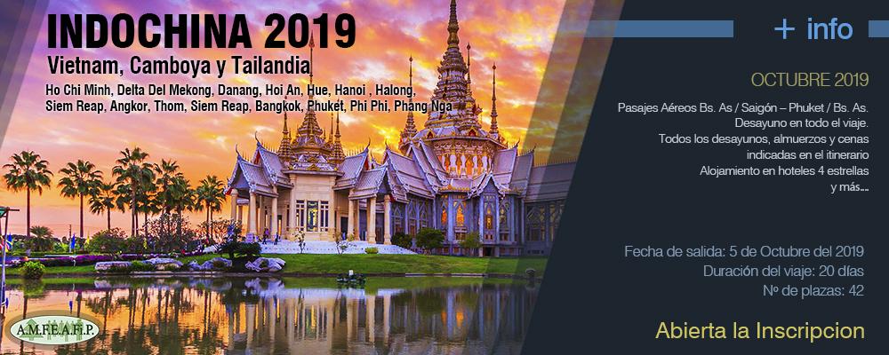 VIAJES 2019 - Indochina 2019