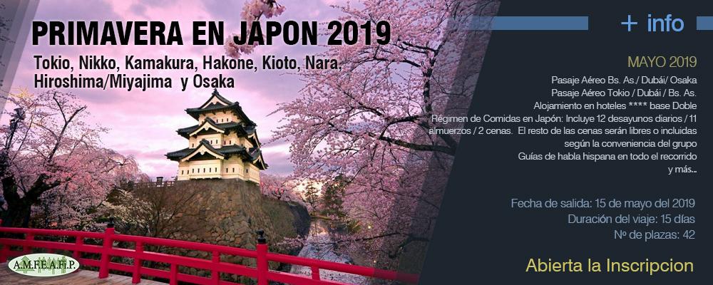 VIAJES 2019 - Japon 2019