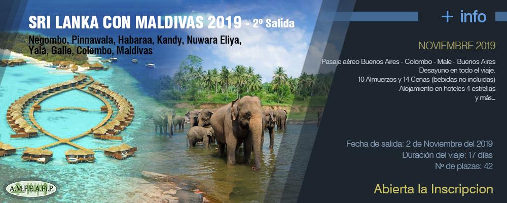 Sri Lanka con Maldivas 2019  - 2º Salida
