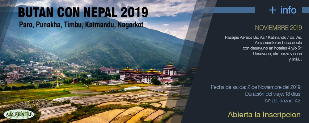 BUTAN CON NEPAL 2019