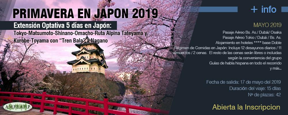 Primavera en Japón 2019