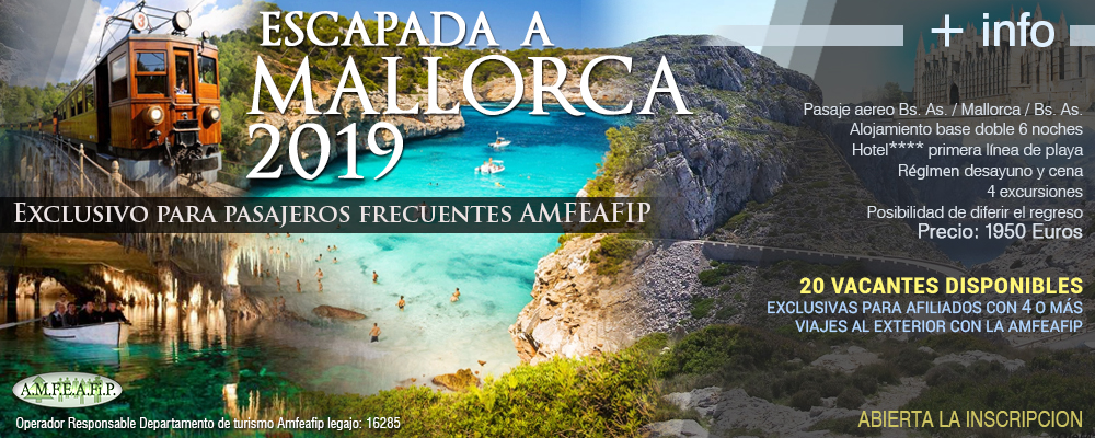 VIAJES 2019 - Escapada a Mallorca 2019