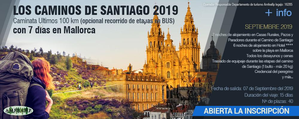 VIAJES 2019 - Caminos de Santiago 2019 - Opcion2