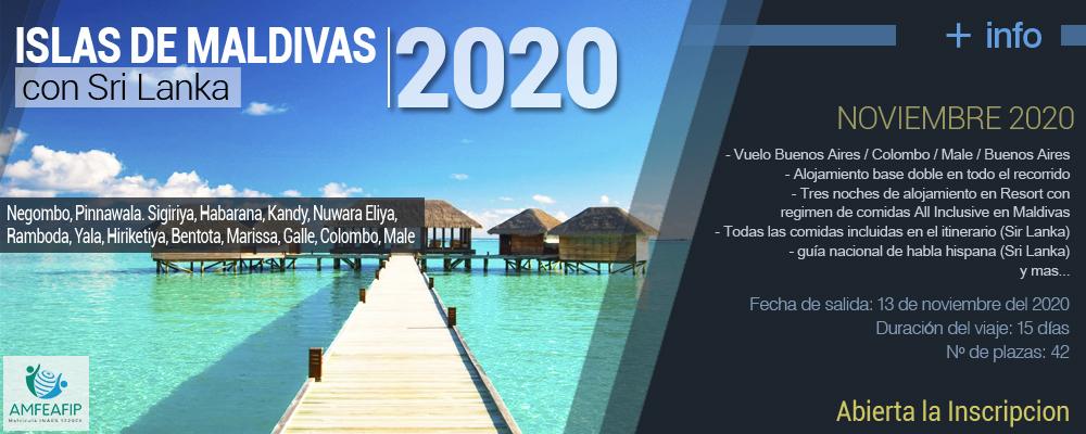Islas de Maldivas 2020