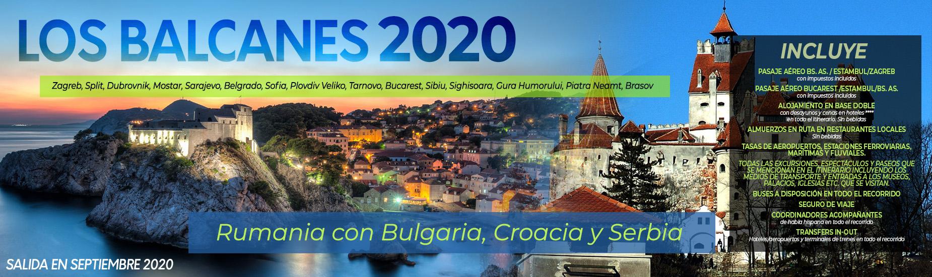Los Balcanes 2020