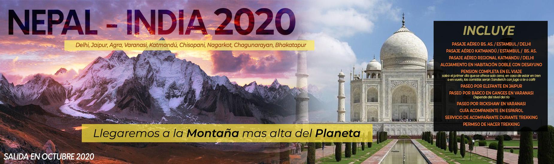 Nepal - India 2020