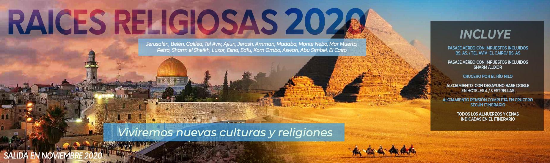 Raíces Religiosas 2020