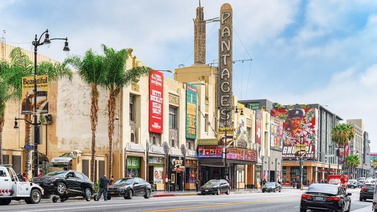Hollywood Boulevard - Los Angeles