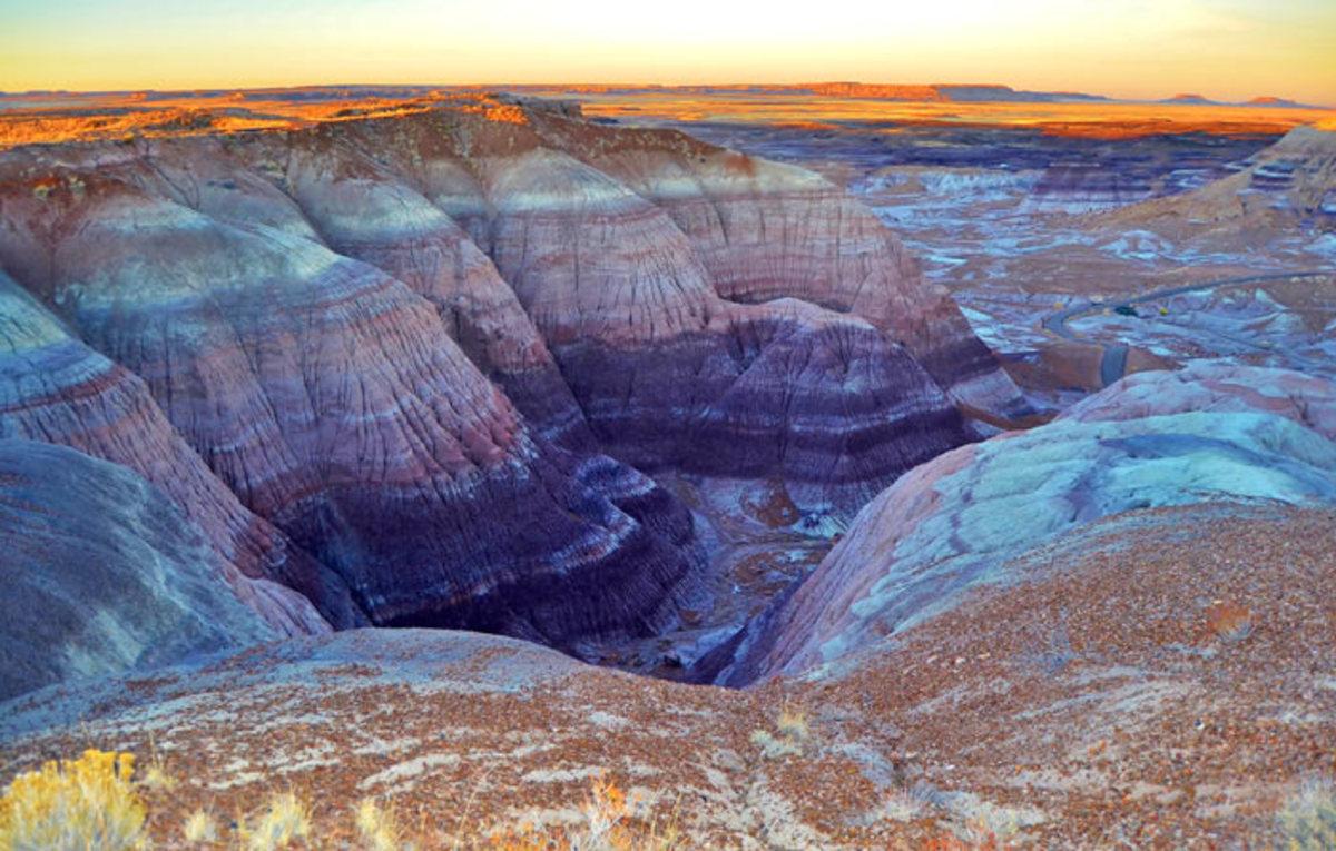 Painted Desert - parque nacional gran cañon